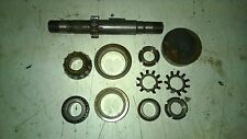 "Leblond Regal 13"" Lathe Feed Reverse Shaft, Gear, Bearings, Lock Washer Nuts"