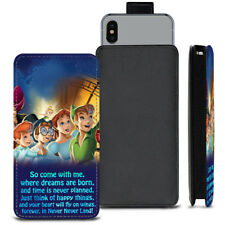 Peter Pan Dreams PU Leather Pull Tab Case For Samsung Galaxy Amp Prime 2