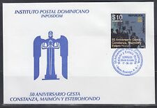 Dominican Republic 2009 Settlements Sc 1468  First Day Cover