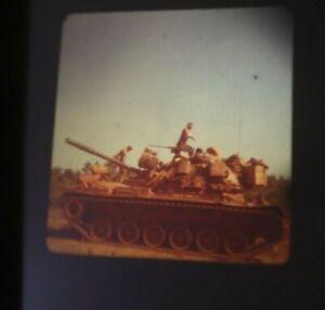 """250+ Vintage 35mm Slides 68-73 Vietnam War US Army """"Wild Ones"""" Tanks 6th Recon"""