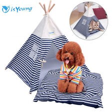 New ListingPortable Pet Tent Outdoor Travel Puppy Teepee Cat Dog Kennel Bed Washable House  sc 1 st  eBay & Portable Dog Tents | eBay