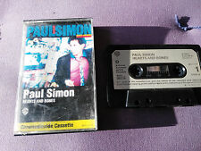 PAUL SIMON HEARTS AND BONES CINTA TAPE CASSETTE WARNER 1983 GERMAN EDITION PAPER