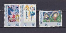 S18078) New Zealand MNH Neu 1986 Health 3v
