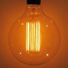 60W Lumin G40 Globe Edison Light Bulb XLARGE 4.92