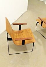 TWEN Rego fauteuil, Ply Wood lounge chair, design Gunther Renkel 1959