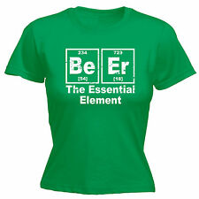 BEER The Essential Element WOMENS T-SHIRT pub bbq party funny mothers day gift