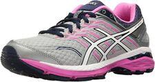 ASICS Women's GT-2000 5 Running Shoe, Mid Grey/White/Pink Glow, 8 D(W) US