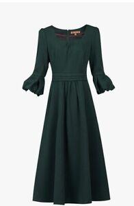 Jolie Moi bell sleeve Party, Prom, midi, Girls,women Size 12 dress RRP £85
