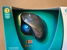 Logitech Wireless Trackball M570 910-001799 IOB Computer Mouse Thumb Ball Fine