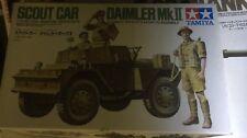 Scout Car Daimler Mk II Tamiya 1/35 Kit Neuf Boite Usagee