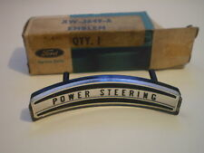 Falcon Power Steering XW XY XA XB Horn Pad Badge.Genuine.N.O.S.Fairlane ZC ZD ZF