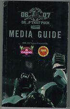 2006/07 Florida Panthers NHL Hockey Media GUIDE