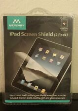 "MERKURY INNOVATIONS iPad Screen Shield (2 Pack) 9.7"" Display New/Sealed"
