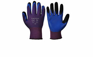 Portwest A175 Duo Flex Glove Advanced Double Dipped Coated Fingers