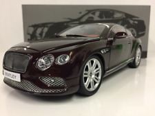 Bentley Continental GT 2016 Bordeaux 1:18 Echelle Paragon 98221R