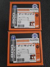 Lot de 2 boites de 500 clous 22mm HC6-22 pour cloueur Pulsa 800 NEUF SPIT057552