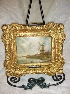 1890's The Windmill at Wijk by Jacob van Ruisdael Framed reproduction