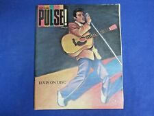 Tower Records PULSE! Magazine August 1987 ELVIS ON DISC Presley