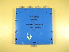 Anaren  40274  4 Way Power Divider  .50 - 1.0GHz