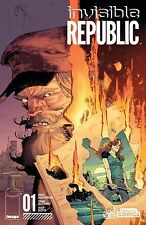 Invisible Republic #1 Yesteryear Comics Exclusive Johnnie Christmas variant