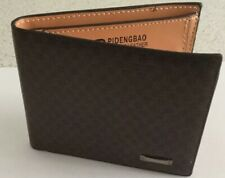 Brown Leather Wallet New