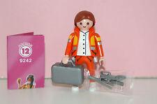 Playmobil 9242 Figures Girls Serie 12 Notärztin Notarzt Arzt für Krankenhaus