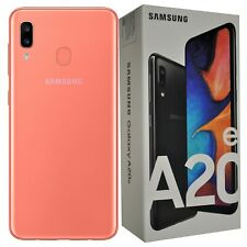 New Samsung Galaxy A20e SM-A202F/DS 32GB Dual-SIM Coral Factory Unlocked SIMFree