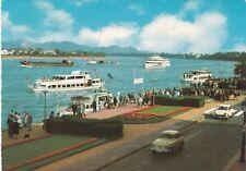 Bonn , Rheinpromenade mit Blick zum Siebengeb., Ansichtskarte, 1967  gelaufen