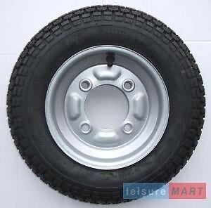 3.50 x 8 350 x 8 115mm PCD Trailer spare wheel & tyre for Erde 102  Maypole 6810