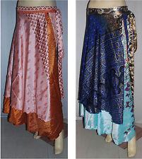 "10 Pcs Wevez Skirt Wrap Vintage Sarong Long Size Skirts 36"""