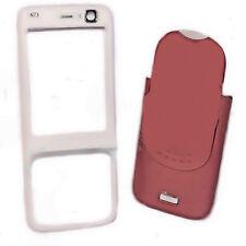 Cover Schale Gehäuse  Oberschale in Rot - Weiß für Nokia N73