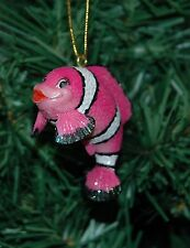 Red Clown Fish Christmas Ornament