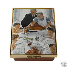 Halcyon Days - Norman Rockwell Freedom From Want Le Box
