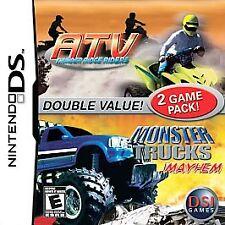 ATV Thunder Ridge Riders Monster Trucks Mayhem Nintendo DS 2007 Video Game