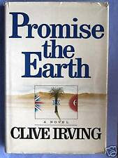 PROMISE THE EARTH-FIRST EDITION-1982- IRVING-WITH D/J!!