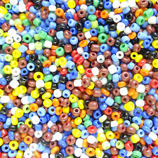 100g Mixed 11/0  Opaque Seed Beads