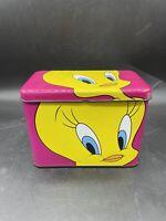 1993 Tweety Bird Hinged Collector's Tin Warner Brothers Looney Tunes Graphomania