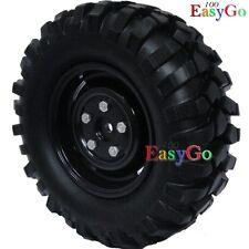 RC 1/10 96MM 2PCS 1.9'' Crawler Tires Wheels for Axial Tamiya cc01 F350 RC4WD
