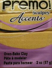 Sculpey PREMO ACCENTS - Polymer Clay - 57g - 18K GOLD