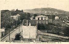Card saint cloud hillsides general view towards the mont valérien