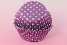"""250ea. 2"""" Assorted Polka Dot Cupcakes Liner Muffin Dessert Baking Cup"""