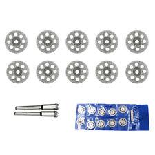 10PCS Diamond Cutting Wheel Saw Blades Cut Off Discs Set for Dremel Rotary Tool