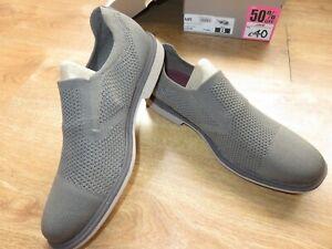 Sketchers Mark Nason Men`s Trainers Slip On Shoes grey UK 7 EUR 41 26 cm NEW BOX