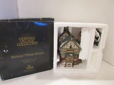 Dept 56 57517 Pied Bull Inn Heritage Village Building W/Cord Moldy Box D12