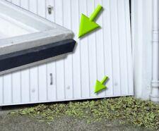 5m Garagentordichtung Schmutzabweiser Abdichtung gegen Laub; Wandschutz Türkante