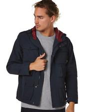 Men's Element Fountain Navy Windcheater Spray Jacket, Size M. NWT, RRP $139.99.