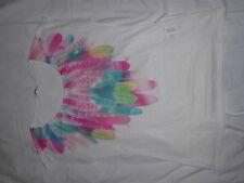 "T-Shirt Polyamide ""Plumes"" Multicolores Camaïeu -L"