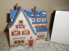 Dept 56 Alpine Village Apotek & Tabak 65404 Christmas Lighted Building