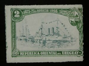URUGUAY  1 MINT HINGED OG STAMP SC # 175