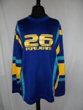 Mens Vintage Pepe Jeans Shirt Large Pro Am Blue Long Sleeve Jersey 26